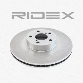 RIDEX 82B0155 Bremsscheibe OEM - 26300FE010 BEDFORD, SUBARU, VAG, AKEBONO, A.B.S. günstig