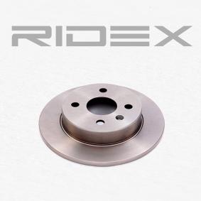 RIDEX Tarcza hamulcowa 82B0008