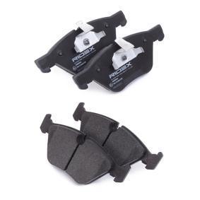 RIDEX 402B0046 Bremsbelagsatz, Scheibenbremse OEM - 34116777772 BMW, BILSTEIN, ALPINA, A.B.S., BMW (BRILLIANCE), OEMparts günstig