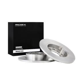 RIDEX Hauptscheinwerfer Einzelteile 82B0038 für AUDI A4 1.9 TDI 130 PS kaufen