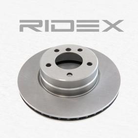 RIDEX 82B0191 Bremsscheibe OEM - 34116764021 BMW, BILSTEIN, FTE, AKEBONO, A.B.S., BMW (BRILLIANCE), OEMparts günstig