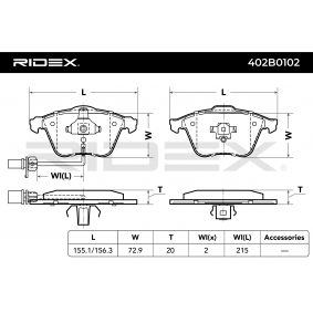 RIDEX 402B0102 günstig