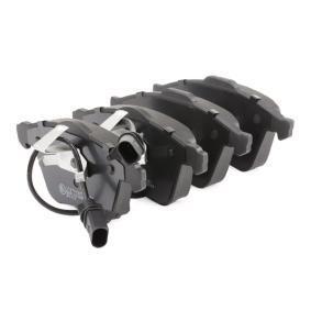 AUDI A4 Cabriolet (8H7, B6, 8HE, B7) RIDEX Bremsbeläge 402B0102 bestellen