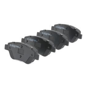 RIDEX Bremsbelagsatz, Scheibenbremse (402B0080) niedriger Preis