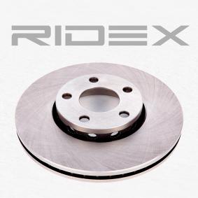 RIDEX 82B0007 Bremsscheibe OEM - 4A0615301E AUDI, PORSCHE, SEAT, SKODA, VW, VAG, HELLA, ATE, BREMBO, AKEBONO, METELLI, A.B.S., sbs, OEMparts, DENCKERMANN günstig