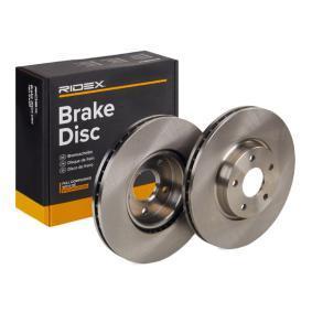 1500159 dla FORD, Tarcza hamulcowa RIDEX (82B0309) Zakupy Internet