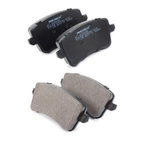 RIDEX 402B0289 Bremsbelagsatz, Scheibenbremse OEM - 8K0698451E AUDI, SEAT, SKODA, VW, VAG, METELLI, BRINK, AUTOMOTOR France, DENCKERMANN günstig