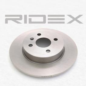 RIDEX Tarcza hamulcowa 82B0087