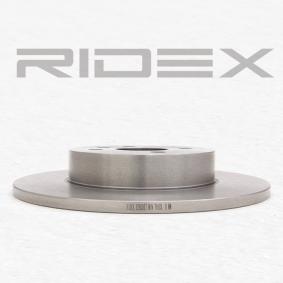 RIDEX OPEL ASTRA Tarcza hamulcowa (82B0087)