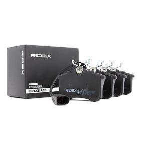 RIDEX Bremsbelagsatz, Scheibenbremse (402B0067) niedriger Preis