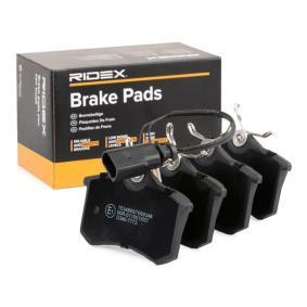 7M0698451 für VW, AUDI, FORD, SEAT, SKODA, Jogo de pastilhas para travão de disco RIDEX(402B0067) Loja virtual