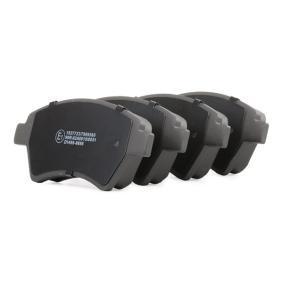 RENAULT SCÉNIC II (JM0/1_) RIDEX Pastilla de freno 402B0144 comprar