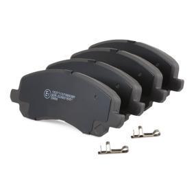 RIDEX Juego de pastillas de freno (402B0112)