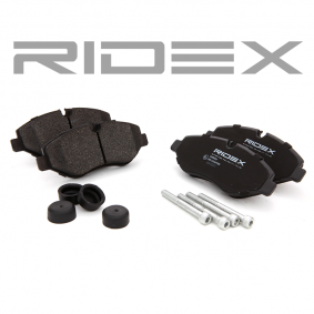 RIDEX Bremsbelagsatz, Scheibenbremse (402B0126) niedriger Preis