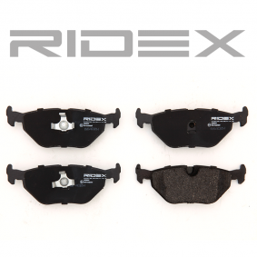 RIDEX 402B0013 Bremsbelagsatz, Scheibenbremse OEM - 34211164501 BMW, CITROËN, MG, ROVER, ALPINA, MINI, VAICO, A.B.S., BMW (BRILLIANCE), VEMA, OEMparts günstig