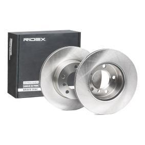 34116764629 für BMW, Bremsscheibe RIDEX (82B0349) Online-Shop