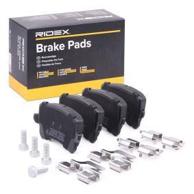 4F0698451D für VW, AUDI, SKODA, SEAT, HONDA, Bremsbelagsatz, Scheibenbremse RIDEX (402B0642) Online-Shop