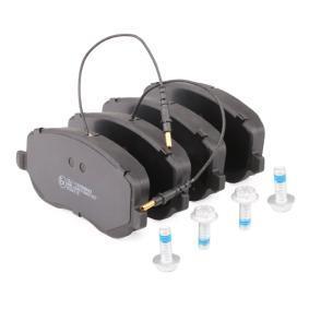 RIDEX Juego de pastillas de freno (402B0104)