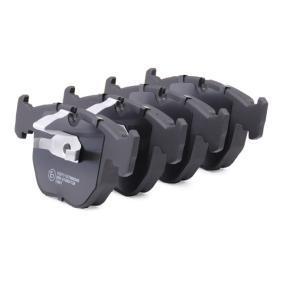 RIDEX Bremsbelagsatz Scheibenbremse (402B0100)