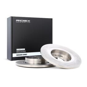 8200123117 für RENAULT, DACIA, RENAULT TRUCKS, Bremsscheibe RIDEX (82B0078) Online-Shop