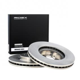 M-класа (W164) RIDEX Комплект спирачни дискове 82B0485