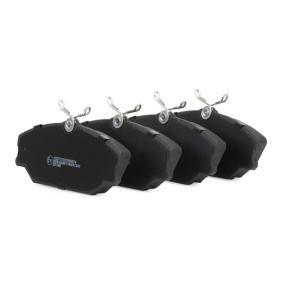 RIDEX Bremsbelagsatz Scheibenbremse (402B0150)