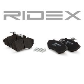 RIDEX Bremsbelagsatz Scheibenbremse (402B0079)