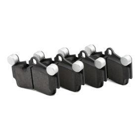 RIDEX Set placute frana, frana disc 402B0137