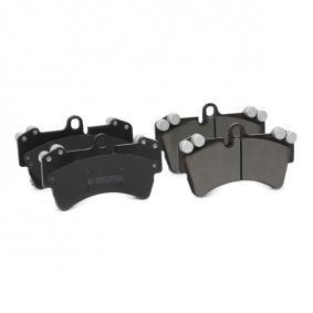 RIDEX Set placute frana, frana disc (402B0156)