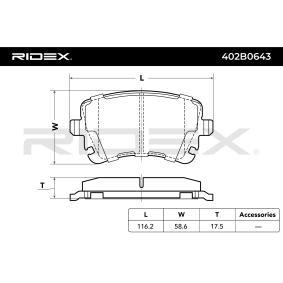 AUDI A4 3.2 FSI 255 PS ab Baujahr 01.2006 - Motorhaube, Motorhaubeneinzelteile und Motorhaubendämmung (402B0643) RIDEX Shop