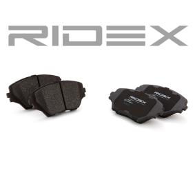 RIDEX Brake pad set (402B0211)