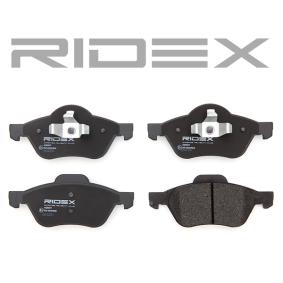 RIDEX Bremssteine 402B0471