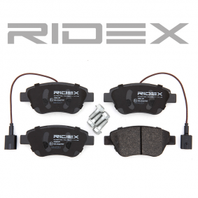 RIDEX 402B0499 Bremsbelagsatz, Scheibenbremse OEM - 71770098 ALFA ROMEO, FIAT, LANCIA, ALFAROME/FIAT/LANCI günstig