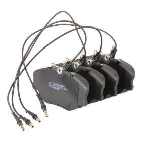 RIDEX Juego de pastillas de freno (402B0175)