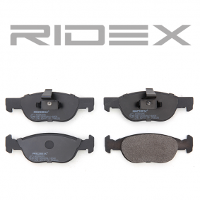 RIDEX Brake pads 402B0285