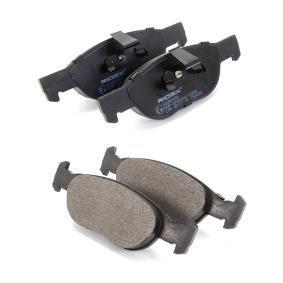 RIDEX Brake pad set (402B0285)