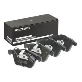 1K0698151B für VW, AUDI, FORD, SKODA, NISSAN, Bremsbelagsatz, Scheibenbremse RIDEX (402B0288) Online-Shop