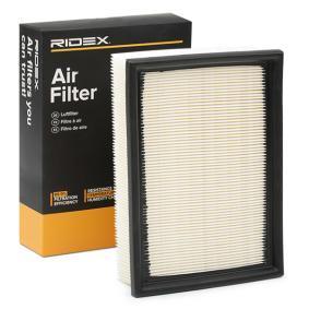 13721730449 für BMW, MAZDA, MINI, ALPINA, Luftfilter RIDEX (8A0078) Online-Shop