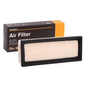 Luftfilter RIDEX Art.No - 8A0064 OEM: 7759323 für FORD, FIAT, ALFA ROMEO, LANCIA, IVECO kaufen