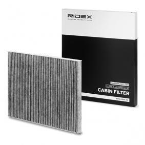 Filter, Innenraumluft RIDEX Art.No - 424I0213 kaufen