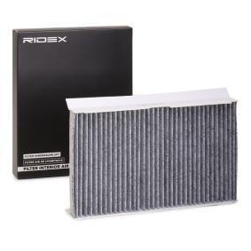 307 (3A/C) RIDEX Filtro antipolen 424I0020