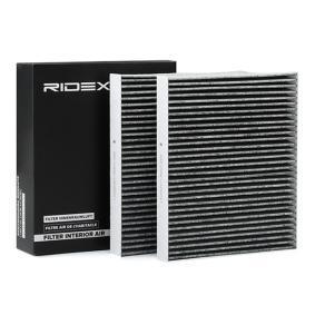 Filter, Innenraumluft RIDEX Art.No - 424I0202 OEM: 64119163329 für MERCEDES-BENZ, BMW, AUDI, MINI, ALPINA kaufen