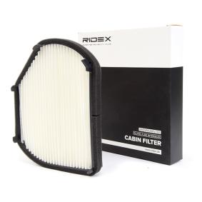 RIDEX Filter, Innenraumluft 2108300818 für MERCEDES-BENZ, SMART, CHRYSLER bestellen