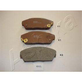 Bremsscheibe ASHIKA Art.No - 60-07-725 OEM: 26300FE010 für SUBARU, BEDFORD kaufen