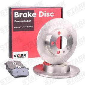 1H0615415 für VW, AUDI, SKODA, SEAT, JEEP, Bremsesæt, skivebremser STARK(SKBK-1090001) Web butik