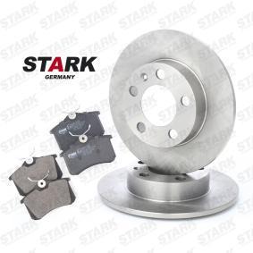 STARK SKBK-1090001 Kit frenos, freno de disco OEM - 6R0698451 AUDI, FORD, SEAT, SKODA, VW, VAG, METELLI, ICER, BRINK, HELLA PAGID, VW (FAW), NPS, JURATEK, FI.BA a buen precio