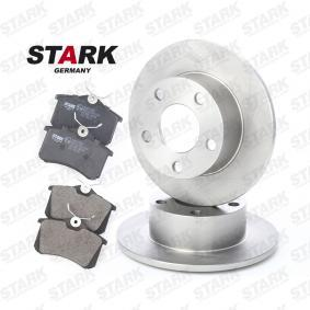 Kit frenos, freno de disco STARK Art.No - SKBK-1090003 OEM: 1JD698451A para VOLKSWAGEN, SKODA, SATURN obtener