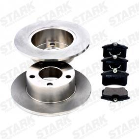 STARK Kit frenos, freno de disco 1JD698451A para VOLKSWAGEN, SKODA, SATURN adquirir