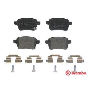 BREMBO Bremsbelagsatz, Scheibenbremse 68211493AA für FIAT, CHRYSLER, ABARTH bestellen