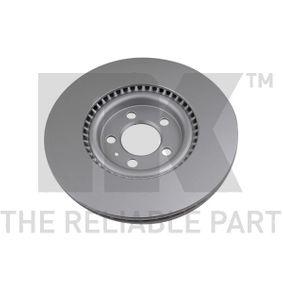 NK Bremsscheibe 6R0615301B für VW, AUDI, SKODA, SEAT, ALFA ROMEO bestellen